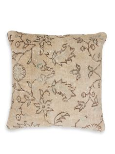 nuLOOM Vintage Overdyed Pillow - Gilt Home Vintage World Maps, Throw Pillows, Home, Toss Pillows, Cushions, Ad Home, Decorative Pillows, Homes, Decor Pillows