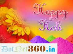 Happy Holi http://dotnet360.in/