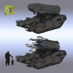 ArtStation - command and conquer red alert 2 Infantry Fighting Vehicle(IFV) redesign , yintion J Robot Concept Art, Weapon Concept Art, Environment Concept Art, Futuristic Armour, Futuristic Art, Army Vehicles, Armored Vehicles, Command And Conquer, Sci Fi Weapons