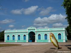Cuiabá, Mato Grosso, Brasil - Museu do Rio Cuiabá, antigo mercado público