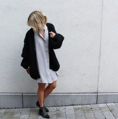 I love Mr Mittens black oversized cardi via D a m o y . E  - s h o p. Click on the image to see more! I Love Mr Mittens, Cardigans, Sweaters, Warm And Cozy, Normcore, Style Inspiration, My Love, Shopping, Black