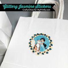 Glittery Jasmine Sti
