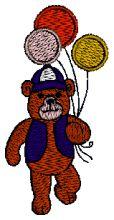 Bubba Bear Embroidery design - Machine Embroidery Designs