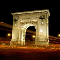 """See 839 photos from 6995 visitors about romania, paris, and architecture. """"Modelled on the triumphal arch in Paris, the structure was erected in. Capital Of Romania, Palace Of The Parliament, Romania People, Visit Romania, Romania Travel, French Architecture, Beautiful Park, George Washington Bridge, Central Europe"""