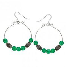 Fern Watercolor Earrings -- Whimsical • Vivacious • Free
