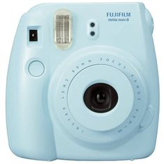 Fuji Instax Mini 8 ❤ liked on Polyvore featuring skirts, mini skirts, mini skirt, fuji, blue skirt and blue mini skirt