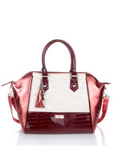 Lipsy Embossed Logo Winged Bag only 45 pounds....(let's save the conversion for later, shall we?)