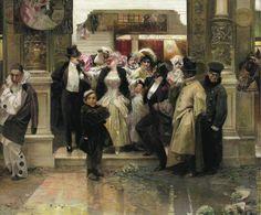 El Museo de Alberto: Salida de un baile de mascaras