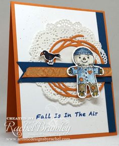 Cookie Cutter Halloween, Cookie Cutter Builder Punch, Swirly Scribbles Thinlits, Fall, Autumn, Scarecrow