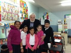 PCI's birthplace, formerly Casa de Todos, is now a primary school in Tijuana! PCI Founder Dr. Jim Turpin visits the primary school and meets the students.