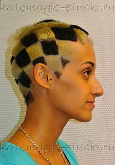 Стрижки с двойным окрашиванием волос
