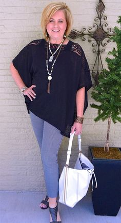 50 IS NOT OLD | WEARING BLACK WITHOUT LOOKING DRAB