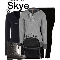 Inspired by Chloe Bennet as Skye on Agents of S.H.I.E.L.D.