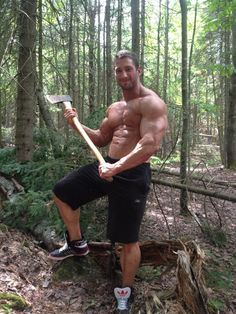 Christian Power with a big chopper Lucas Entertainment, Of Montreal, Country Men, Muscular Men, Male Form, Male Physique, Hairy Men, Gym Motivation, Muscles