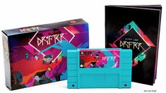 Hyper Light Drifter Collector's Edition packs in a SNES cartridge, manual, and world map
