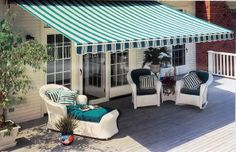 Retractable Awning is perfect
