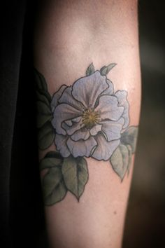 Alice Carrier tattoo