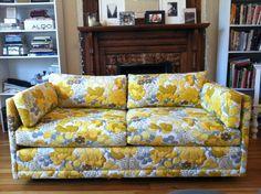 Ordinaire Retro Floral Sofa