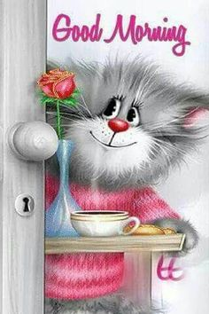 Good Day Quotes: cute good morning cartoon pics - Bing Images - Quotes Sayings Cute Good Morning Pictures, Funny Good Morning Quotes, Morning Greetings Quotes, Good Morning Messages, Good Morning Good Night, Morning Humor, Good Morning Wishes, Morning Pics, Good Morning Cartoon Images