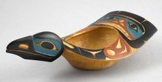 Raven Bowl  ~ David Boxley - Tsimshian Bowl Carvings Gallery