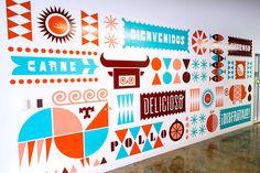 Moniker / on Design Work Life - Wall Graphic
