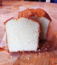 バニラのパウンドケーキ
