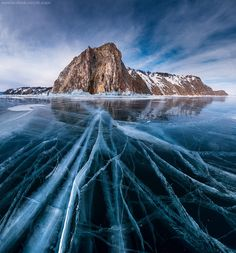"Thin strings ofBaikal byDaniel Kordan:""It is a story about five brave adventurers, decided to crossBaikal lake fromNorth toSouth on skates.We made total of400 km in3weeks.Baikal.This lake is located inSiberia.Wind here has so high speed, that it blows away from feet.When you are stepping first time onBaikal ice,you feel it like going in open space.It is cosmic,breathtaking.Ice onBaikal is very clear:you can see everything in it.It is like a small galaxy.And it is quite thick-one meter,in…"