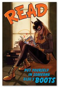 Batgirl Poster - New Products - Posters - Products for Young Adults - ALA Store