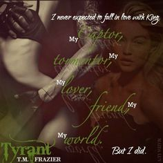 Tyrant (King 2) by T.M. Frazier #MaidaLuv