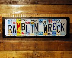 License Plate Art, Texas Tech Red Raiders, Moon Jewelry, Wire Hangers, Wooden Case, Gifts For Father, Graduation Gifts, Are You The One, Craft Projects
