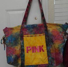 overnight purse with zipper