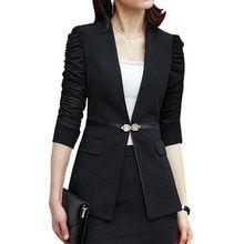 Tienda Online Trajes Formales Para Mujer Ropa De Trabajo Oficina Uniforme De Dama Trajes De Oficina De Mujer Blazers Feminino Uniforme Ele Fashion Blazer Women