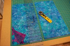 Interleave quilt - how to make.Very interesting concept!