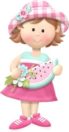"""Photo from album """"Slice of Life"""" on Yandex. Girl Cartoon, Cute Cartoon, Cute Images, Cute Pictures, Girls Clips, Cute Clipart, Slice Of Life, Minnie, Pretty Art"""