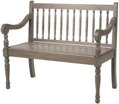 Savannah Bench - Benches - Entryway - Furniture | HomeDecorators.com