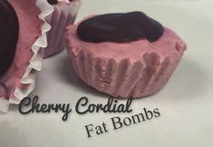 A decadent cherry fat bomb perfect for a low carb snack! If you love cherries you'll love this amazing recipe. Perfect for a snack on the go