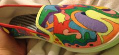 It's a shoodle! I doodle painted on my shoes...can't say I'll ever wear them though!