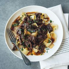 Short Rib Ragù ... short rib ragu over pasta with prosciutto | Williams-Sonoma