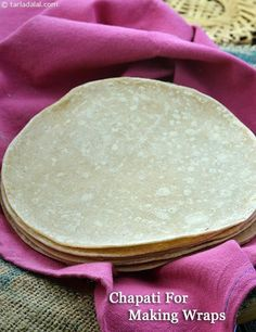 Chapati For Making Wraps