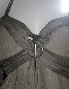 """From """"Game of Thrones"""" worn by Emilia Clarke as Daenerys Targaryen design by Michele Clapton Got Costumes, Movie Costumes, Costume Ideas, Game Of Thornes, Legend Of The Seeker, Khaleesi Costume, Medieval, The Other Boleyn Girl, Game Of Thrones Costumes"""