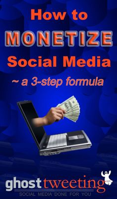 This is actually the proven formula for getting web traffic and attracting ideal clients, from GhostTweeting.com