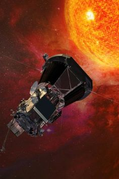 NASA's Parker Solar Probe is scheduled to depart Earth next summer and make its way to the sun's atmosphere, the corona, about 4 million miles from its surface. Space Exploration Technologies, Space Probe, Ozone Layer, Closer To The Sun, Shocking Facts, Nasa Astronauts, Our Solar System, Astrophysics, Outer Space