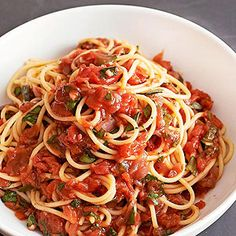 Fresh Marinara Sauce From Better Homes and Gardens, ideas and improvement projects for your home and garden plus recipes and entertaining ideas.