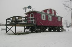 I want a caboose for Christmas...