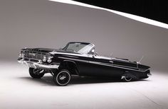 1961 Chevrolet Impala Ss Convertible Driver Side Front View