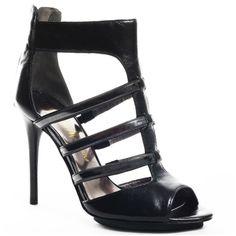 Marciano Carolina Black Multi Lea Women Shoes #prom