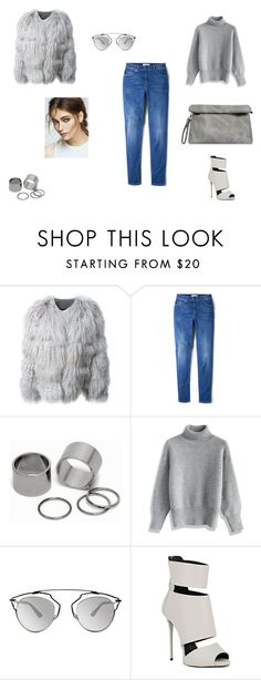 Untitled #47 by juliecoraliesofie on Polyvore featuring Mode, Chicwish, Chloé, MANGO, Giuseppe Zanotti, Pieces and Christian Dior
