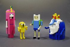 Adventure Time lego sculpture + other awesome lego creations.