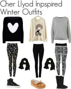 ♥ cute outfits for winter ♥