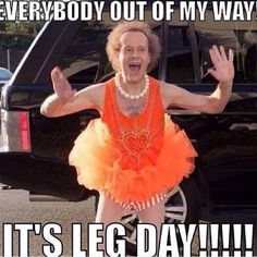Its LEG DAY and I am literally still sore from Thursdays shoulders and back work. - Its LEG DAY and I am literally still sore from Thursdays shoulders and back workout. This week I ma - Sport Motivation, Fitness Motivation Quotes, Workout Motivation, Daily Motivation, Gym Humour, Workout Humor, Workout Quotes, Exercise Quotes, Leg Day Humor